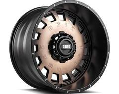 GRID Wheels GD03 Painted Matte Black
