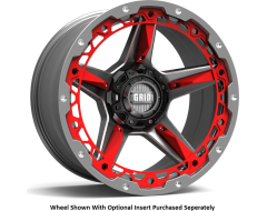 GRID Wheels GD04 Painted Gloss with Milled Accents