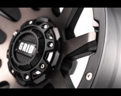 GRID Wheels GD05 Matte Black Machined