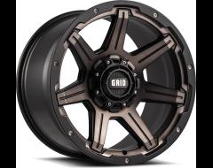 GRID Wheels GD06 Matte Black Machined