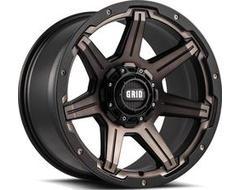 GRID Wheels GD06 Painted Matte Black