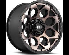 GRID Wheels GD08 Painted Matte Black