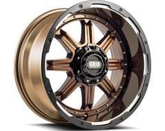 GRID Wheels GD10 Painted Gloss Bronze Black Lip