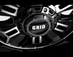 GRID Wheels GD11 Painted Gloss Black