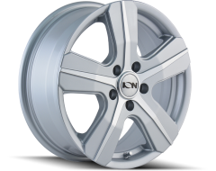 Ion Wheels 101 Silver Machined Face