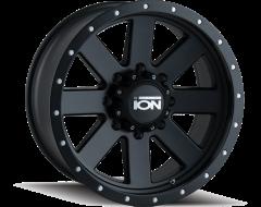 Ion Wheels 134 Matte Black Black Beadlock