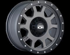 Ion Wheels 135 Matte Gunmetal Black Beadlock