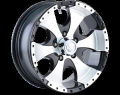 Ion Wheels 136 Black Machined Lip