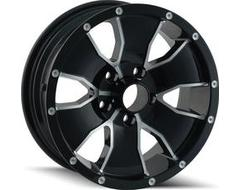Ion Wheels 14 Black Machined Face