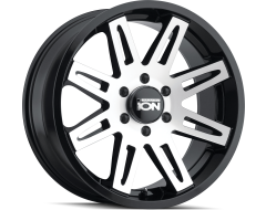 Ion Wheels 142 Black Machined Face