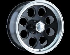 Ion Wheels 171 Black Machined Lip