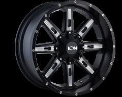 Ion Wheels 184 Satin Black Milled Spokes