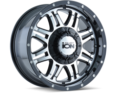 Ion Wheels 186 Black Machined Face