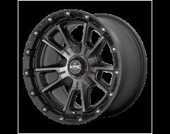 KMC Wheels KM100 SYNC Satin Black with Grey Tint