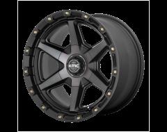 KMC Wheels KM101 SIGNAL Satin Black with Grey Tint