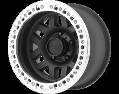KMC Wheels KM229 MACHETE CRAWL Satin Black Machined Bead Ring