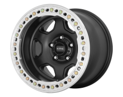 KMC Wheels KM233 HEX Satin Black