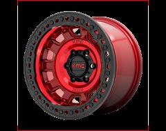 KMC Wheels KM236 TANK BEADLOCK Candy Red
