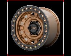 KMC Wheels KM236 TANK BEADLOCK Matte Bronze
