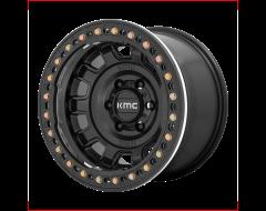KMC Wheels KM236 TANK BEADLOCK Satin Black