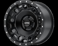 KMC Wheels KM529 HOLESHOT Satin Black