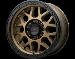 KMC Wheels KM535 GRENADE OFF-ROAD Matte Bronze Black Lip
