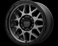 KMC Wheels KM535 GRENADE OFF-ROAD Matte Grey Matte Black Lip