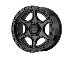KMC Wheels KM539 PORTAL Satin Black