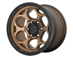 KMC Wheels KM541 DIRTY HARRY Matte Bronze with Black Lip