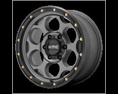 KMC Wheels KM541 DIRTY HARRY Satin Grey with Black Lip