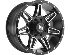 LRG Burst Series Satin Black with Machined Accents