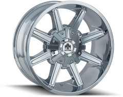 Mayhem Wheels ARSENAL 8104 Chrome