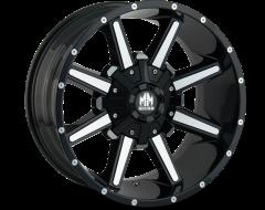 Mayhem Wheels ARSENAL 8104 Gloss Black Machined Face