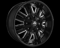 Mayhem Wheels ASSAULT 8070 Black