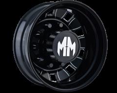Mayhem Wheels BIGRIG 8180 Black Milled Spokes