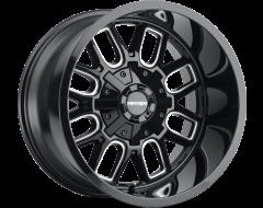 Mayhem Wheels COGENT 8107 Gloss Black Milled Spokes