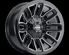 Mayhem Wheels DECOY 8108 Gloss Black Milled Spokes