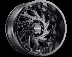 Mayhem Wheels ESSEX 8112 Gloss Black Milled Spokes
