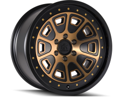 Mayhem Wheels FLAT IRON 8301 Matte Black with Bronze Tint