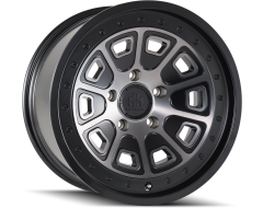 Mayhem Wheels FLAT IRON 8301 Matte Black with Dark Tint