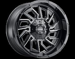 Mayhem Wheels FLYWHEEL 8111 Gloss Black Milled Spokes