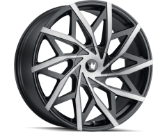 Mazzi Wheels BIG EASY 372 Matte Black with Dark Tint