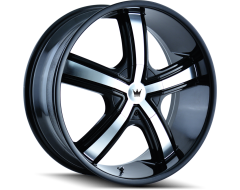 Mazzi Wheels BOOST 359 Black Machined Face