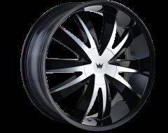 Mazzi Wheels EDGE 337 Gloss Black Machined Face