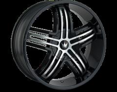 Mazzi Wheels ENTICE 368 Gloss Black Machined Face