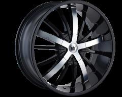 Mazzi Wheels ESSENCE 364 Gloss Black Machined Face