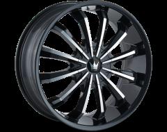 Mazzi Wheels FUSION 341 Gloss Black Machined Face