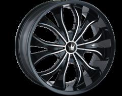 Mazzi Wheels HUSTLER 342 Gloss Black Machined Face