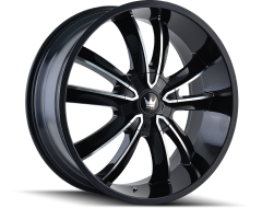 Mazzi Wheels OBSESSION 366 Gloss Black Machined Face