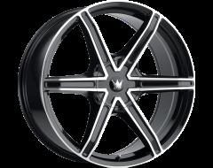 Mazzi Wheels STILTS 371 Black Machined Face